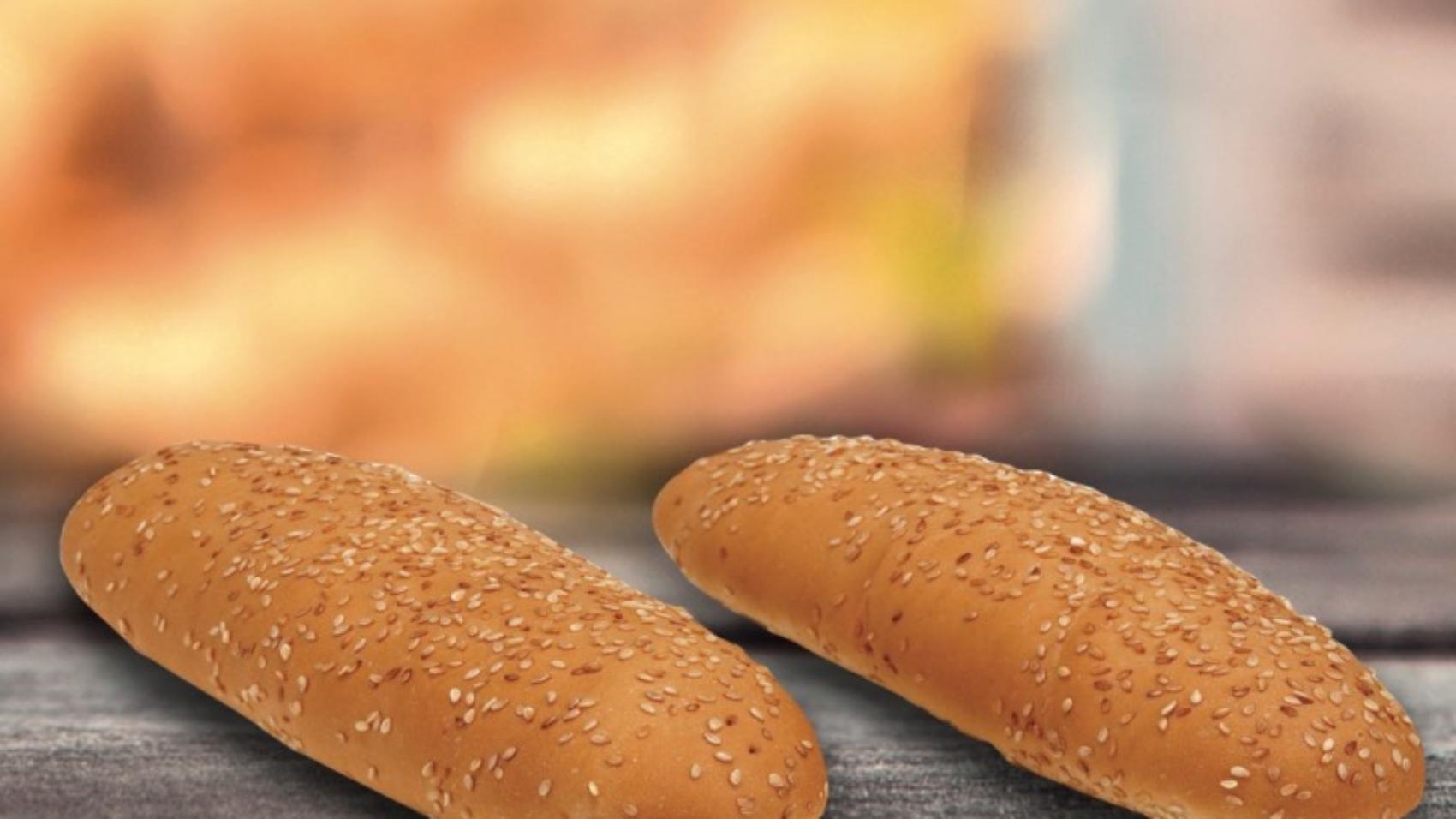 hot dog sesamo